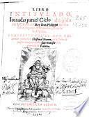 Libro intitulado Iornadas para el Cielo ...