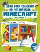 Libro para Colorear de Matemáticas Minecraft