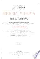 Los dioses de Grecia y Roma o mitologia greco-romana