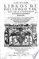 Los ocho libros de los inventores de las cosas; nuevamente traducido por Vicente de Millis Godinez