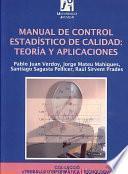 Manual de control estadístico de calidad