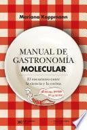 Manual de gastronomía molecular