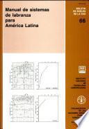 Manual de sistemas de labranza para America Latina