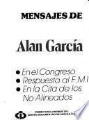 Mensajes de Alan García