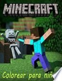Minecraft Libro de Colorante