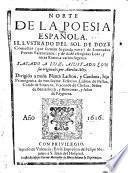 Norte de la Poesia Española