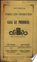 Noticia de todos los productos de la Casa Le Perdriel