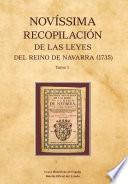 Novíssima Recopilación de las Leyes del Reino de Navarra (1735)