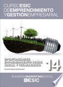 Oportunidades: emprendimiento verde, social y tecnológico