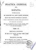 Practica criminal de España, 3
