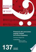 Presencia del cancionero popular infantil en la lírica hispánica