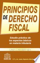 PRINCIPIOS DE DERECHO FISCAL 2018