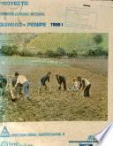 Proyecto de Desarrollo Rural Integral Quimiag-penipe Tomo i Diagnostico
