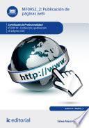 Publicación de páginas web. IFCD0110