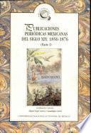 Publicaciones periódicas mexicanas del siglo XIX, 1856-1876: without special title