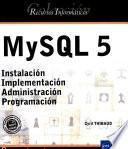 Recursos Informáticos MYSQL 5
