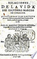 Relaciones de la Vida del Escudero Marcos de Obregon