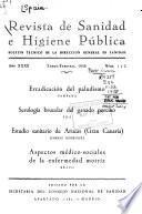 Revista de sanidad e higiene pública