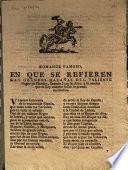 Romance Famoso, En Que Se Refieren Las Grandes Hazañas Del Valiente Negro de Flandes, llamado Juan de Alva, y lo mucho que el Rey nuestro Señor le premió sus hechos