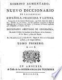 Sobrino aumentado, o Nuevo diccionario de las lenguas española