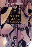 Solo de música cubana