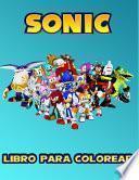 Sonic Libro Para Colorear