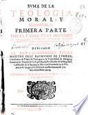 Suma de la Teologia Moral y Canonica