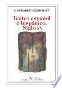 Teatro español e hispánico