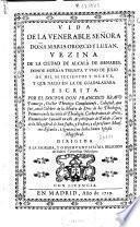 Vida de la venerable señora Doña Maria Orozco y Luxan