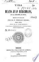 Vida del Beato Juan Berchmans ...